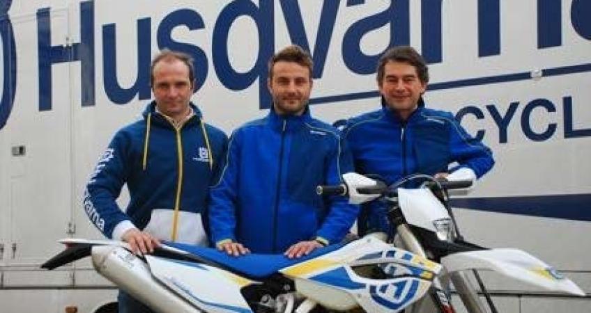 Monni con Husqvarna nel Team RS Moto di Simone Agazzi