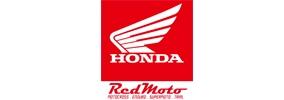 Honda red moto