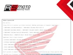 RS Moto Racing Team SSD 2020